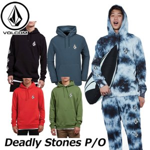 volcom ボルコム パーカー  Deadly Stones P/O メンズ  A4131805  【返品種別OUTLET】|fleaboardshop