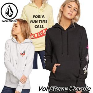 volcom ボルコム パーカー  Vol Stone Hoodie レディース  B3141803 fleaboardshop