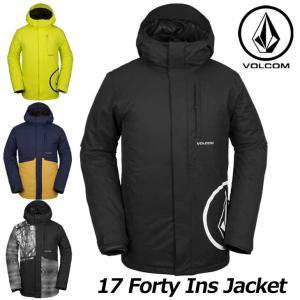 18-19 VOLCOM ボルコム メンズ ウェア スノー ボード ジャケット 17 Forty Ins Jkt  G0451908 予約販売品