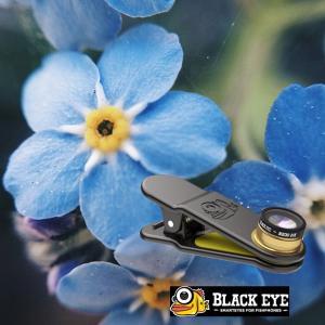 black eye ブラックアイ マクロ 接写レンズ   セルカレンズ クリップ式  BLACKEYE MACRO 20X【接写】|fleaboardshop