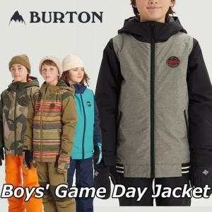 19-20 BURTON バートン キッズ スノーボード ジャケット Boys【Game Day Jacket 】(110/126/140/150/164) 日本正規品【返品種別OUTLET】|fleaboardshop