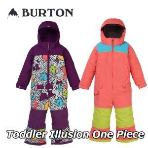 19-20 BURTON バートン キッズ スノーウエアー Toddler 【Burton Illusion One Piece】(2-7才) 日本正規品 【返品種別OUTLET】|fleaboardshop