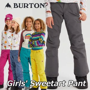 19-20 BURTON バートン キッズ スノーボード パンツ  Girls【Sweetart Pant 】(110/126/140/150/164) 日本正規品【返品種別OUTLET】|fleaboardshop