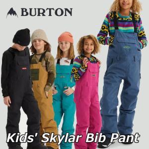 19-20 BURTON バートン キッズ スノーボード パンツ Kids【Skylar Bib Pant 】(110/126/140/150/164) 日本正規品【返品種別OUTLET】|fleaboardshop