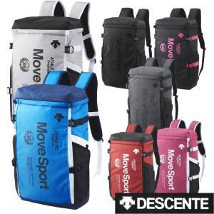 デサント (DESCENTE )  スクエアバックパック DMANJA04 (約30L) MOVE sports 通学 部活 スポーツ バッグ  リュック|fleaboardshop