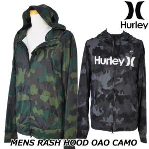 Hurley ハーレー ラッシュパーカー  RASH HOOD OAO CAMO (CJ6147) メンズ  春夏モデル 正規品|fleaboardshop