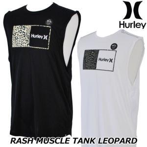 Hurley ハーレー ラッシュガード タンクトップ  RASH MUSCLE TANK LEOPARD (CJ6150) メンズ  春夏モデル 正規品|fleaboardshop