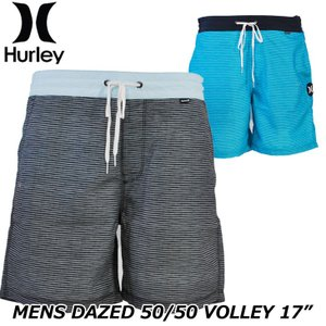 Hurley ハーレー サーフパンツ ボードショーツ  DAZED 50/50 VOLLEY 17インチ (AV8258) メンズ  春夏モデル 正規品|fleaboardshop