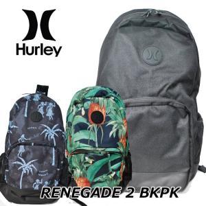 HURLEY ハーレー リュック バックパック BAG   RENEGADE2 (HU0012/53/58)|fleaboardshop