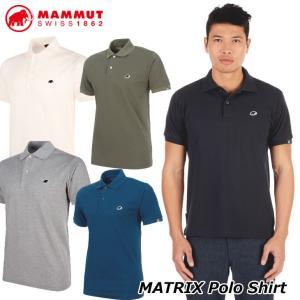 MAMMUT マムート メンズ ポロシャツ  MATRIX Polo Shirt Men  正規品 ship1|fleaboardshop