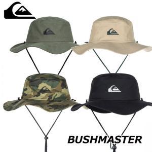 Quiksilver クイックシルバー ハット メンズ  サファリハット BUSHMASTER 【AQYHA03314】|fleaboardshop