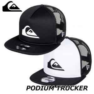 Quiksilver クイックシルバー キャップ  メンズ  CAP PODIUM TRUCKER 【AQYHA04332】|fleaboardshop