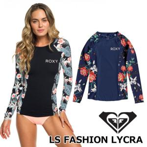 ROXY ロキシー ラッシュガード 長袖  LS FASHION LYCRA (GRJWR03016/3019)  レディース  2019春夏 fleaboardshop