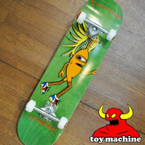 スケートボード コンプリート  TOY MACHINE トイマシーン  TEMPLETON FISHNETS 7.875 テンプルトンフィッシュネッツ fleaboardshop