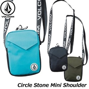 ボルコム VOLCOM ミニショルダーバッグ Circle Stone Mini Shoulder Bag D65319JA 【返品種別OUTLET】|fleaboardshop
