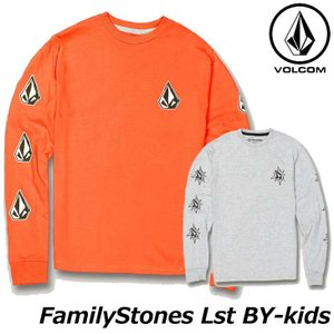 volcom ボルコム キッズ ロンT Familystones Lst BY 8-14歳 C363...