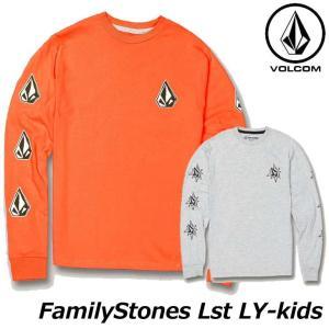 volcom ボルコム キッズ ロンT Familystones Lst LY 3-7歳 Y3631...