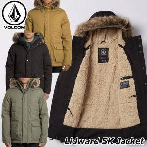 ステッカープレゼント ボルコム VOLCOM メンズ Lidward 5K Jacket ジャケット...