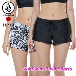 volcom ボルコム レディース ラッシュショーツ  Vol Swim Rash Shorts  japan O08119JA fleaboardshop