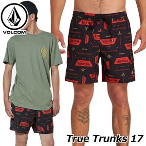 volcom ボルコム サーフパンツ True Trunks 17 メンズ ボードショーツ A2511900 【返品種別OUTLET】 fleaboardshop