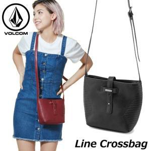 volcom ボルコム レディース ショルダーバッグ  Line Crossbag  E6411953  ship1 fleaboardshop
