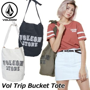 volcom ボルコム レディース トートバッグ  Vol Trip Bucket Tote  japan E65119JC  ship1 fleaboardshop