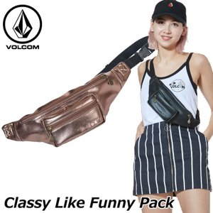 volcom ボルコム レディース ウエストバッグ  Classy Like Funny Pack  japan E65119JE  ship1 fleaboardshop