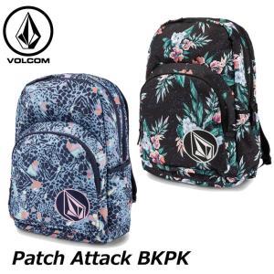 volcom ボルコム レディース バックパック  Patch Attack BKPK  E6531875  ship1 fleaboardshop