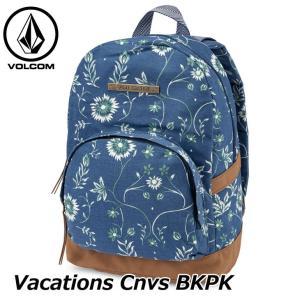 volcom ボルコム レディース バックパック  Vacations Cnvs BKPK  E6531881  ship1 fleaboardshop