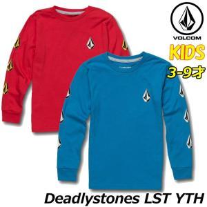 ボルコム volcom キッズ ロンT Deadlystones LST YTH 3-9歳 Y363...