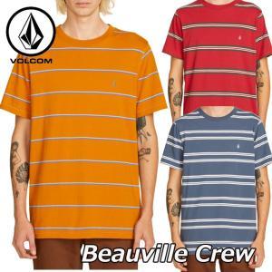 volcom ボルコム tシャツ Beauville Crew メンズ 半袖 A0111901 【返品種別OUTLET】 fleaboardshop