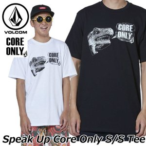 volcom ボルコム tシャツ  Speak Up Core Only S/S Tee メンズ  半袖 A35119JB  ship1|fleaboardshop