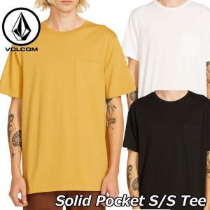 volcom ボルコム tシャツ Solid Pocket S/S Tee  メンズ 半袖 A5031808 【返品種別OUTLET】 fleaboardshop