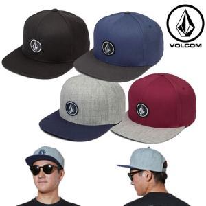 ボルコム キャップ volcom メンズ Quarter Twill (Snap Back Hat ...