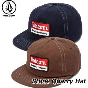 ボルコム キャップ volcom メンズ  Stone Quarry Hat  スナップバック  D...