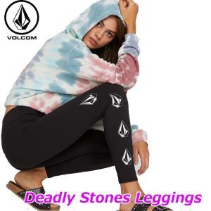 volcom ボルコム レディース レギンス  Deadly Stones Leggings  B1121900 ship1 fleaboardshop