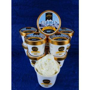 生きた乳酸菌ジェラート/魚沼のアイスクリーム/フレミン 子供用にも安心(卵不使用/卵アレルギー対応) 110ml×12個入  flemin-spg