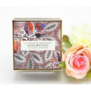Fragonard フラゴナール トンカソープ 香水石鹸 フランス プロヴァンス 女性誕生日プレゼント お礼お返しお祝い 宅急便コンパクト可|fleur-de-camelia2