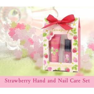 プチギフト ハンドクリーム ネイルオイル いちごの香り ギフトセット 女性 誕生日プレゼント バレンタイン お礼 お返し お祝い fleur-de-camelia2