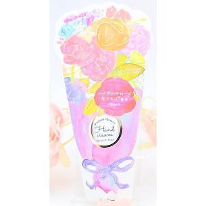 ギフト ローズ ハンドクリーム ブーケ柄パッケージ 女性 誕生日プレゼント お礼 お返し お祝いの画像