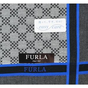 """8cdad23d0de4 イタリアのファッションブランド""""フルラ""""にスタイリッシュなメンズハンカチが登場しました. お気に入り. 父の日 フルラ FURLA ハンカチ ギフト  ..."""