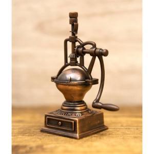 鉛筆削り アンティーク コーヒーロースター 雑貨 インテリア小物 ギフト 誕生日プレゼント お礼 お返し お祝い|fleur-de-camelia2