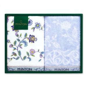 MINTON ミントン ハドンホール タオル セット ギフト フェイスタオル 2枚組 イギリス ブラ...