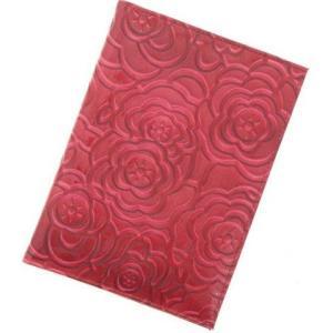 保険証ケース Sサイズ 診察券 お薬手帳 薄型 多機能カードケース ローズ エナメル 旅行 トラベル パスポートケース メール便可|fleur-de-camelia2