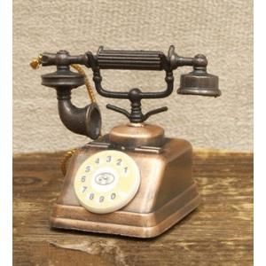 鉛筆削り アンティーク 電話機 置物 雑貨 インテリア小物 ギフト 誕生日プレゼント お礼 お返し お祝い|fleur-de-camelia2