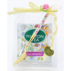 MINTON ミントン 紅茶 ギフトセット ティーバッグ ティースプーン イギリス 高級 ブランド 宅急便コンパクト可 fleur-de-camelia2