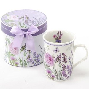 グレースマグ マグカップ ギフトボックス入り ラベンダー 母の日 女性 誕生日 プレゼントお礼 お返し お祝い fleur-de-camelia2