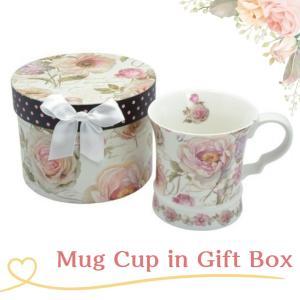 マグカップ ギフトボックス入り 英字ローズ 女性誕生日 プレゼント ギフト お礼 お返し お祝い fleur-de-camelia2