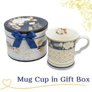 マグカップ ギフトボックス入り ホワイトローズ 女性誕生日 プレゼント ギフト お礼 お返し お祝い fleur-de-camelia2