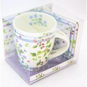 マグカップ ティースプーン コースター ストロベリー 女性 誕生日プレゼント お礼 お返し お祝い fleur-de-camelia2